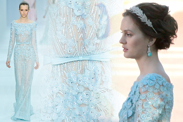 Brides blair waldorf serena van der woodsen aisle perfect for Serena wedding dress gossip girl price