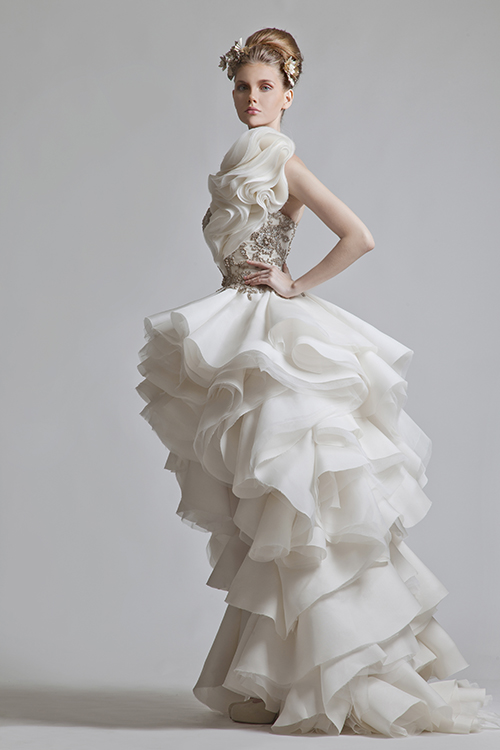 Ap spotlight wedding dress designer krikor jabotian for Lebanese wedding dress designers