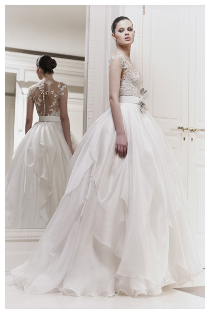 Zuhair murad s s 2012 collection aisle perfect for Zuhair murad wedding dress prices