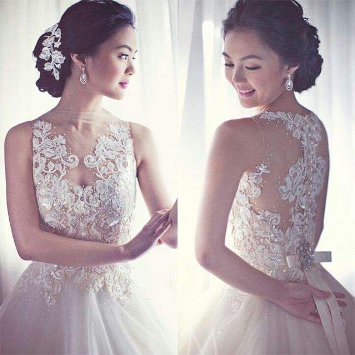 Veluz Reyes Wedding Gown: 30 Pretty Perfect Embellished Wedding Dresses