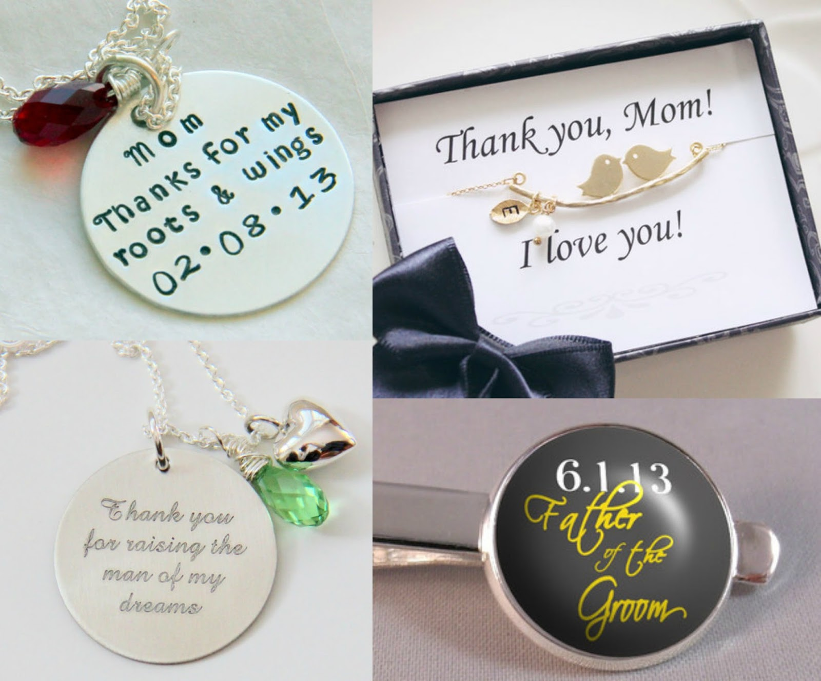 7 Great Thank You Gift Ideas For Your Parents On Your Wedding Day