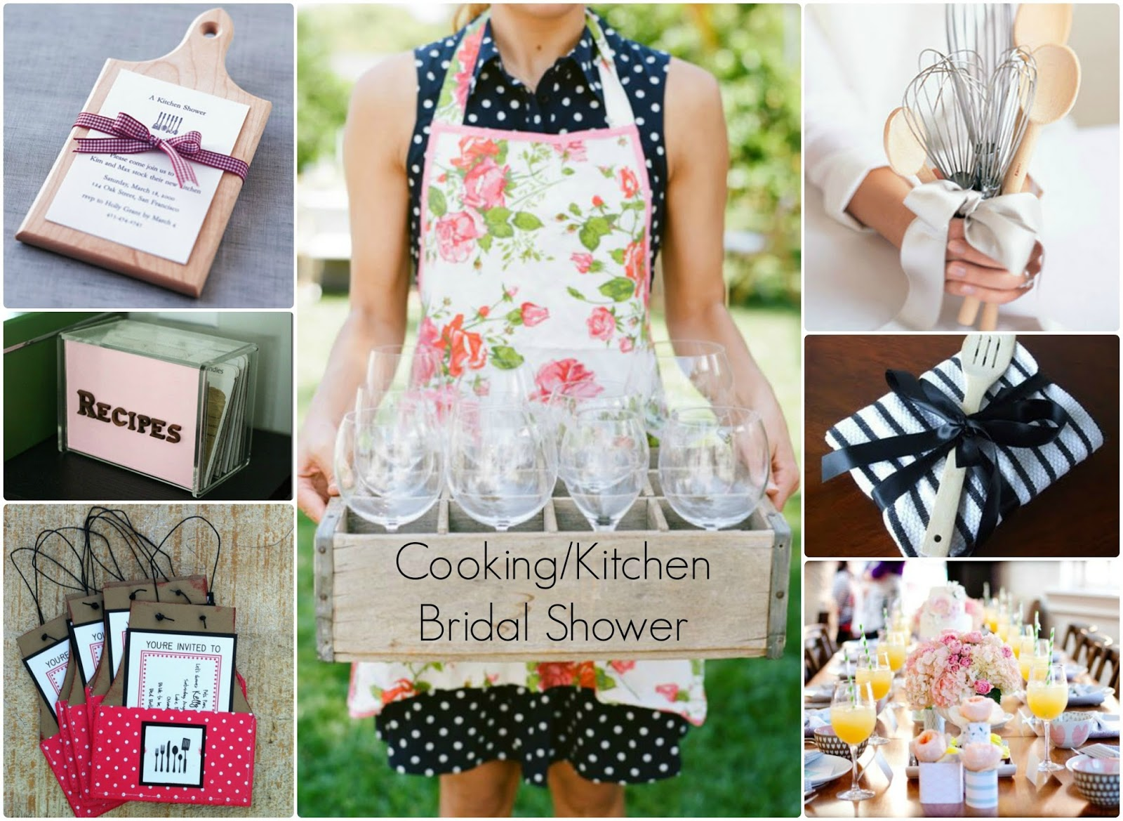 Cooking Or Kitchen Themed Bridal Shower Inspiration Perfete
