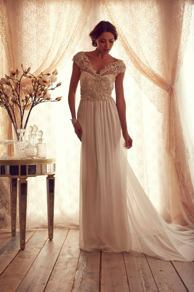 Wedding dresses anna campbell gossamer collection aisle for How to find the perfect wedding dress