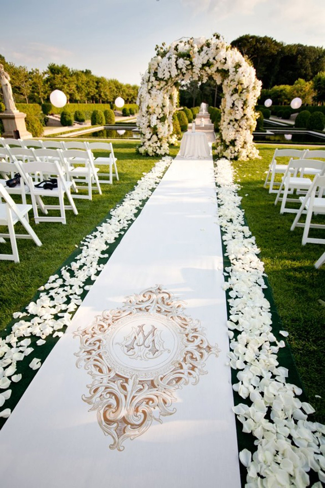 17 pretty perfect ceremony decor ideas aisle perfect for Decor 17
