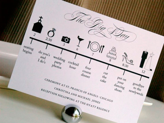 7 Pretty Perfect Wedding Program Ideas Perfete