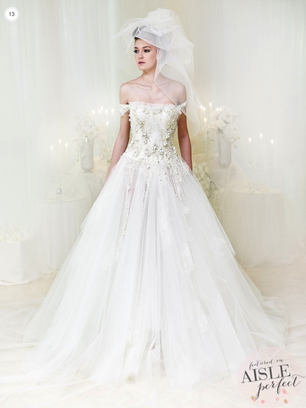 Wedding dresses ziad nakad bridal collection 2013 aisle for Ziad nakad wedding dresses prices