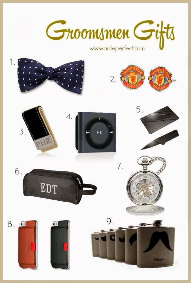 Pretty Perfect Groomsmen Gift Ideas Aisle Perfect