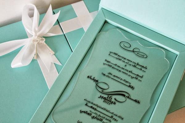 Wedding Trend Plexiglass And Acrylic Wedding Stationery Perfete