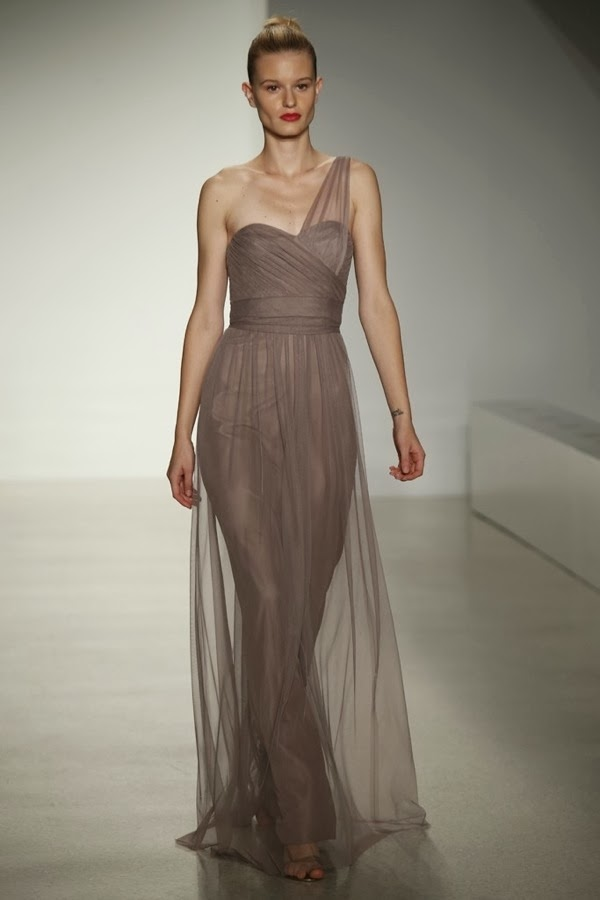Bridesmaid dresses amsale fall 2014 collection aisle for Amsale aberra wedding dresses