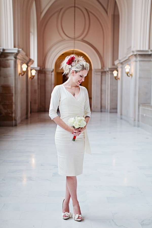 city hall bridal looks