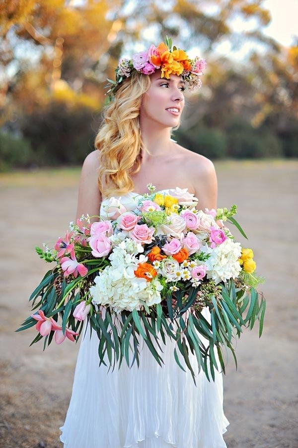 Bohemian wedding inspiration- image by arina b