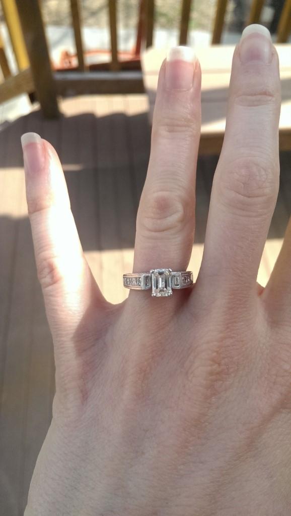 AP Bride Audrey Engagement Ring