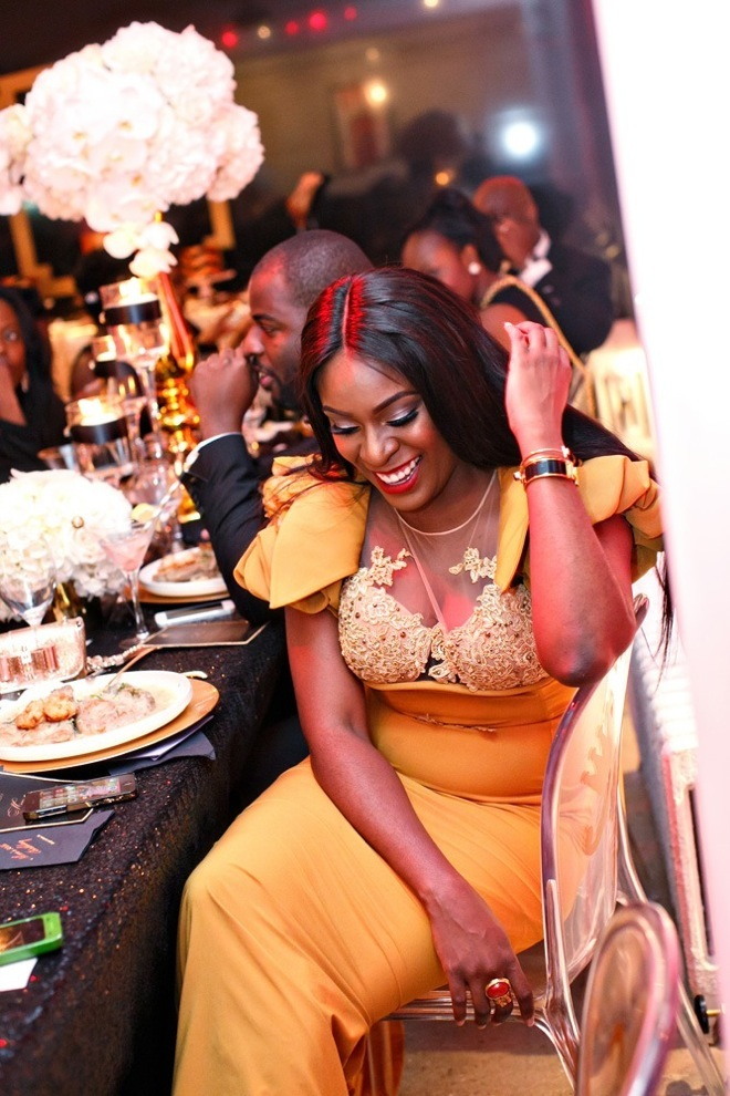 Black and Gold Party Inspiration by Elle's Couture Events 30