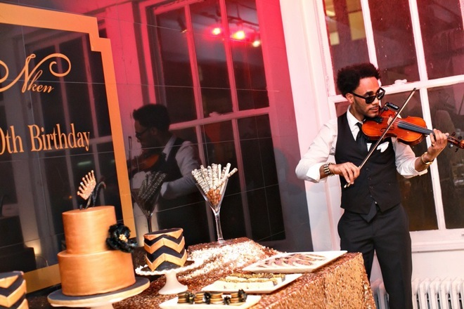 Black and Gold Party Inspiration by Elle's Couture Events 70