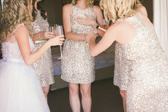 Sequin Bridesmaid Dress Image by Picture Me and U