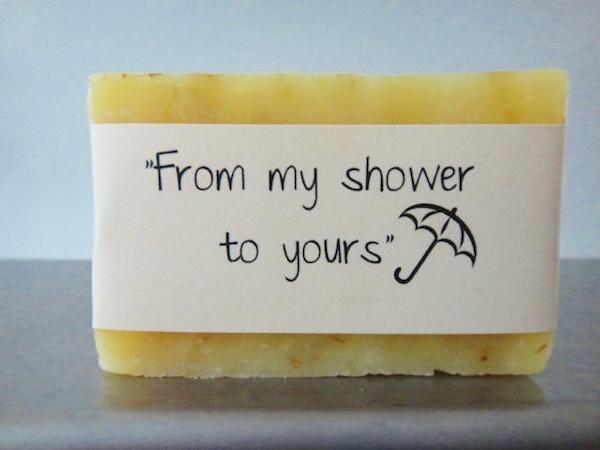 Soap Shower Favors