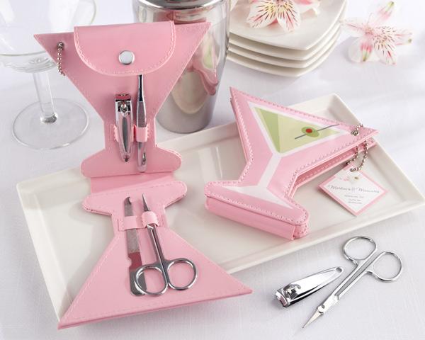 manicure kit bridal shower favor