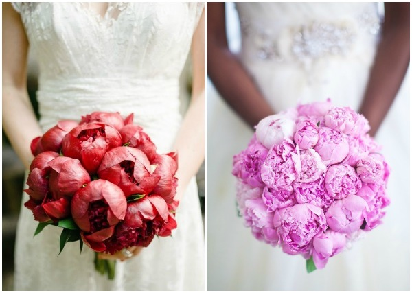 1. Opalia Flowers, Brklyn View Photography via The Knot | 2. Raining Roses Productions, Collins Metu via Aisle Perfect