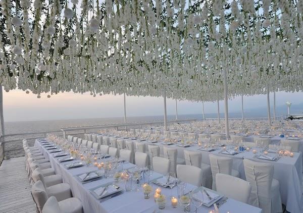 20 Pretty Perfect All White Reception Decor Perfete