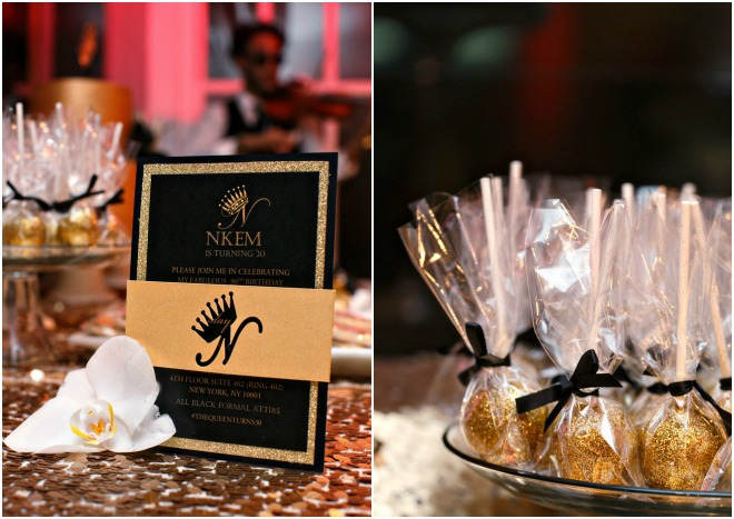 30th Birthday Party Inspiration by Elles Couture Events