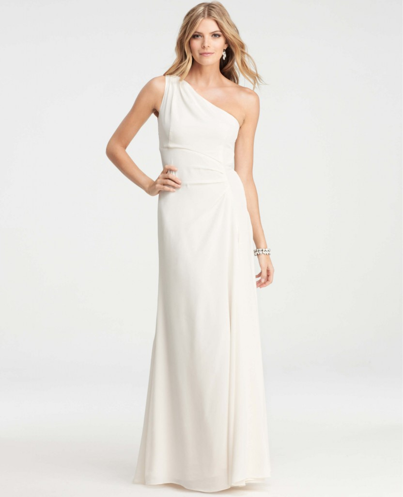 Ann Taylor Crepe Gown