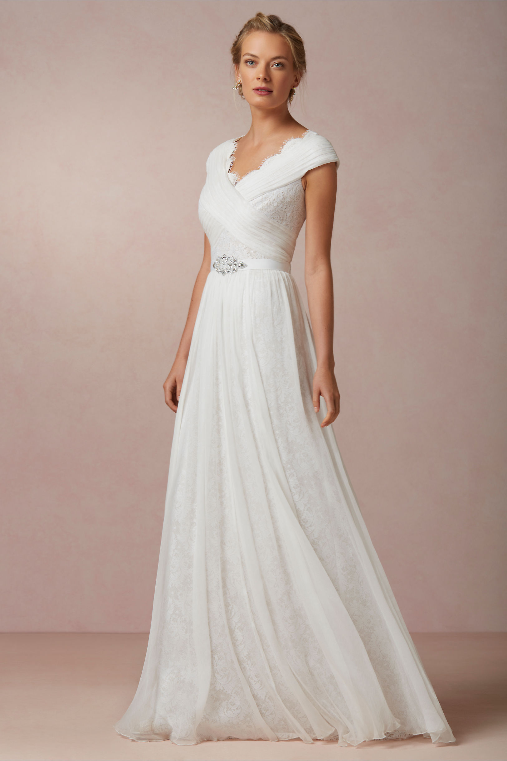 Friday five for five wedding dresses under 500 vol 25 for Modest wedding dresses under 500