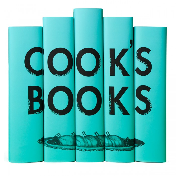 Blue Cooks Book Set