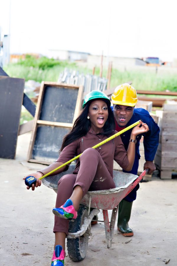 Construction Themed Engagement Shoot (13)