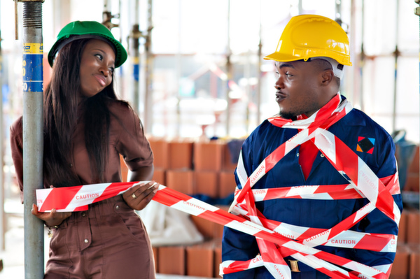 Construction Themed Engagement Shoot (15)