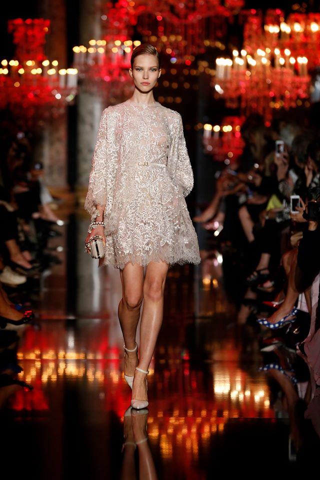 Elie Saab Little White Dress