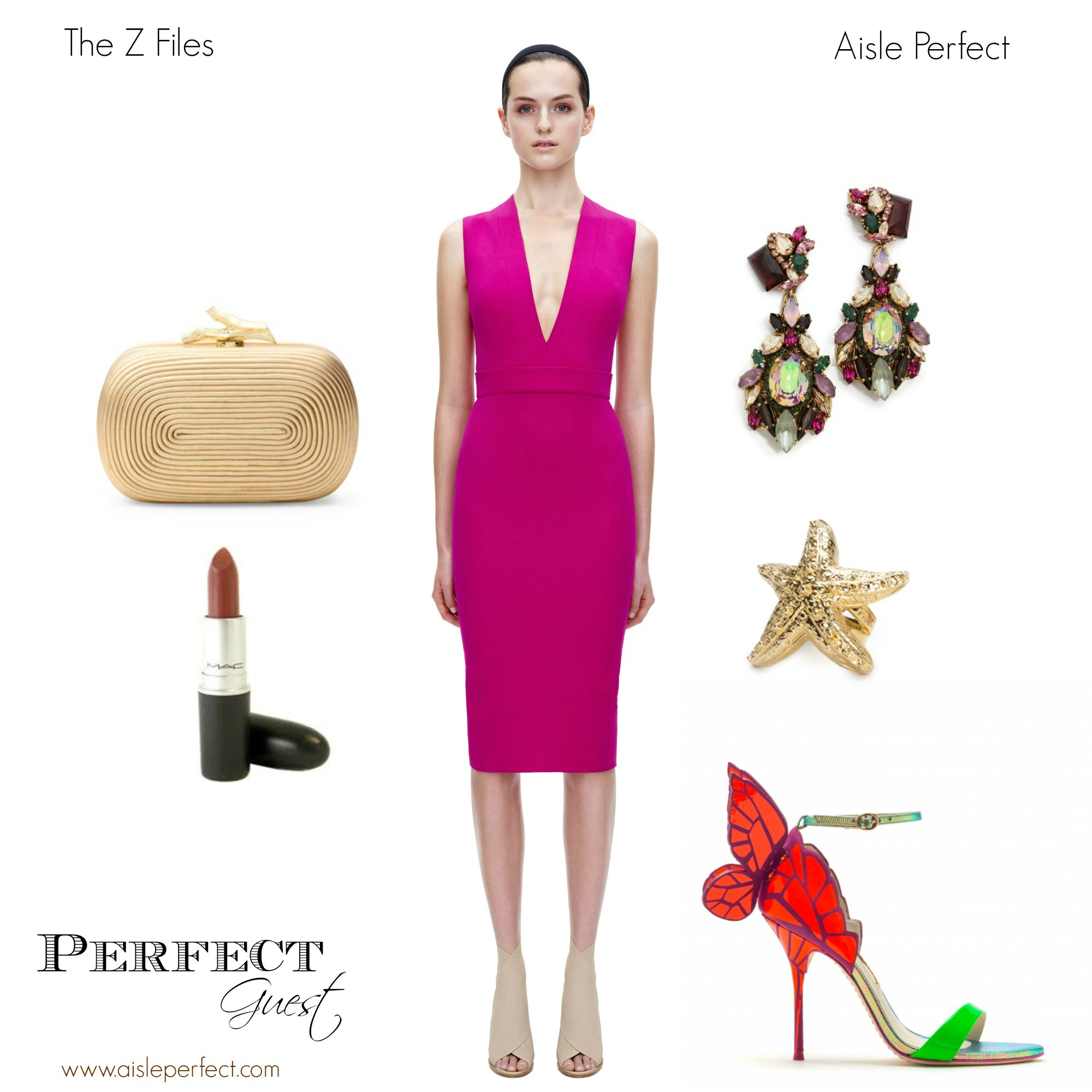 cc5f608011c Perfect Wedding Guest Outfit The Z Files on Aisle Perfect