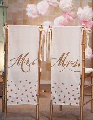 Chair Cover Sign