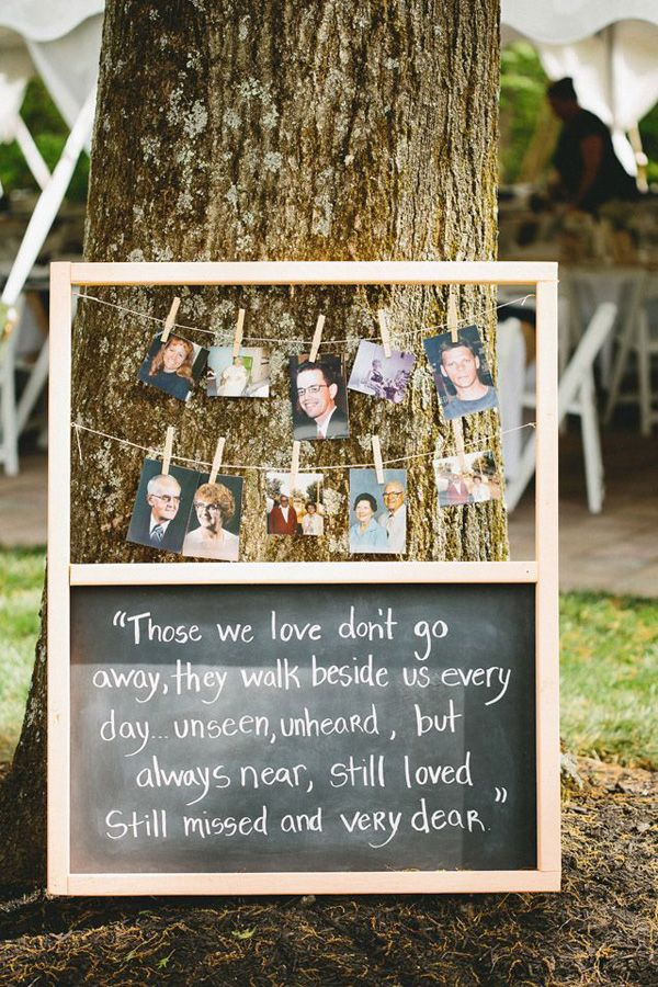 Honoring Lost Loved Ones Quotes : 10 Ways to Honor Deceased Loved Ones at Your Wedding - Aisle Perfect