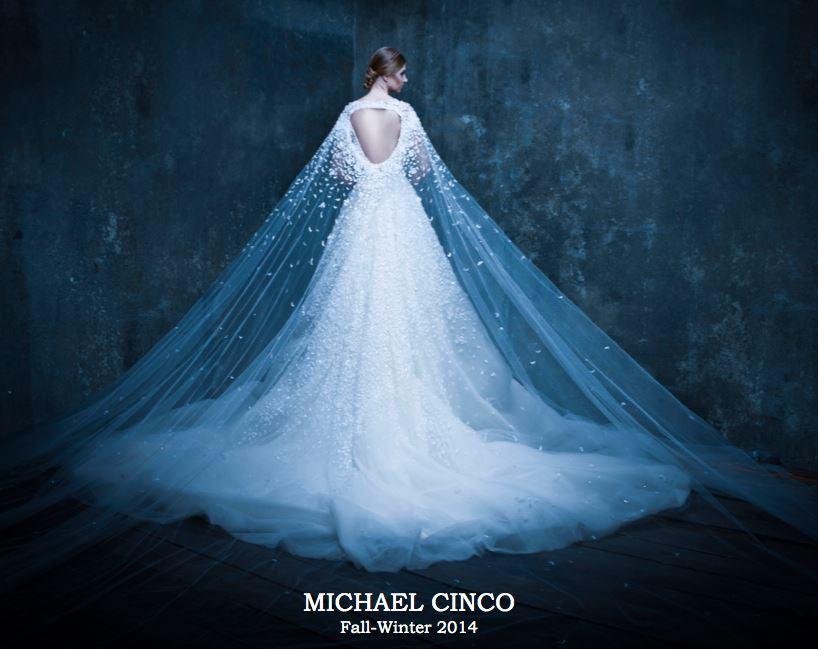 Michael Cinco Bridal FW 2014