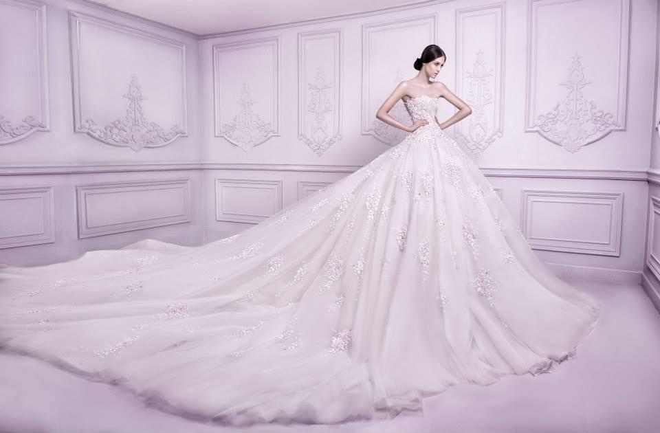 Michael Cinco SS Bridal 2014