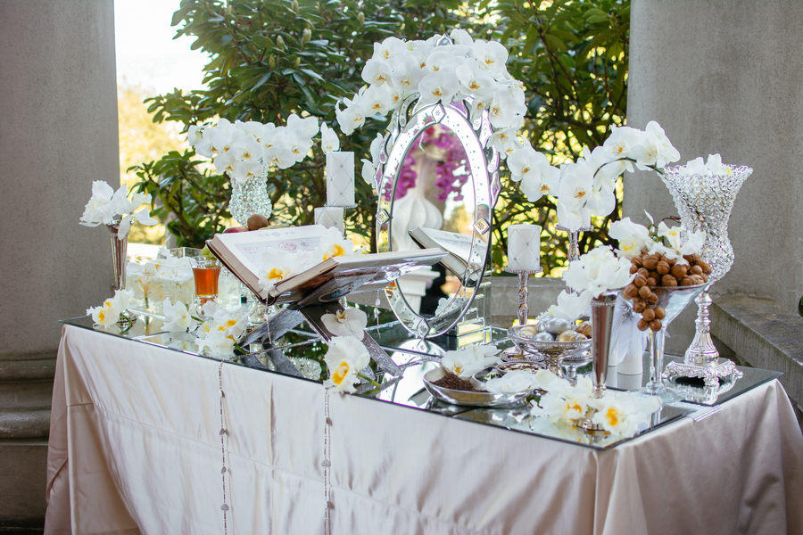 Guestbook and Sofreh Table