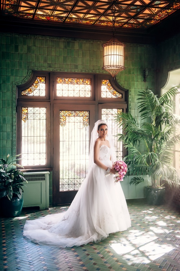 Pink Wedding at the Hycroft Mansion Will Pursell Photography 48