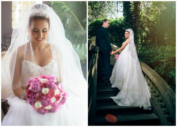 portraits of a bride