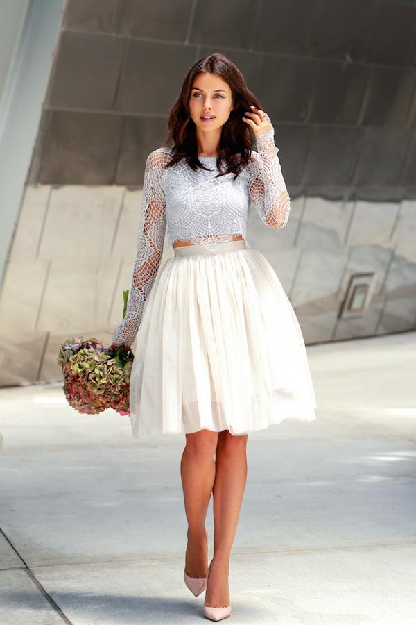 Anabelle Fleur- little white dress