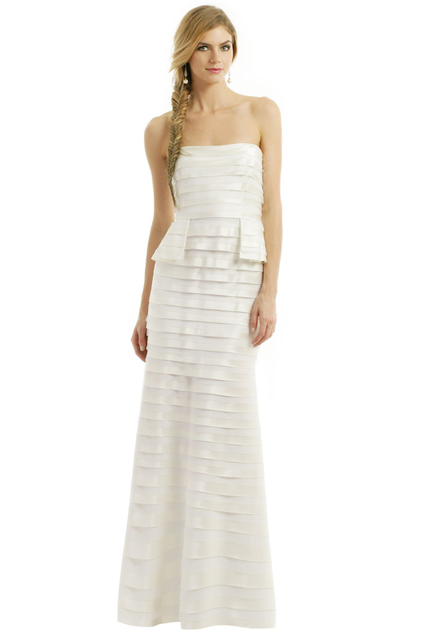 BCBG Gown (available for rent) $125
