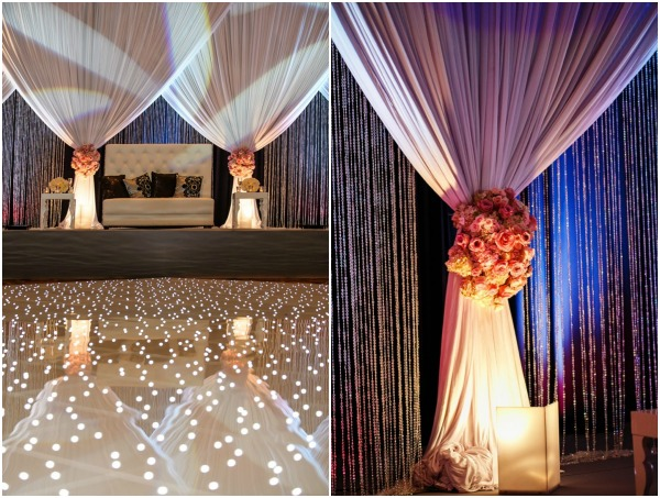Glam Wedding Reception Atlanta