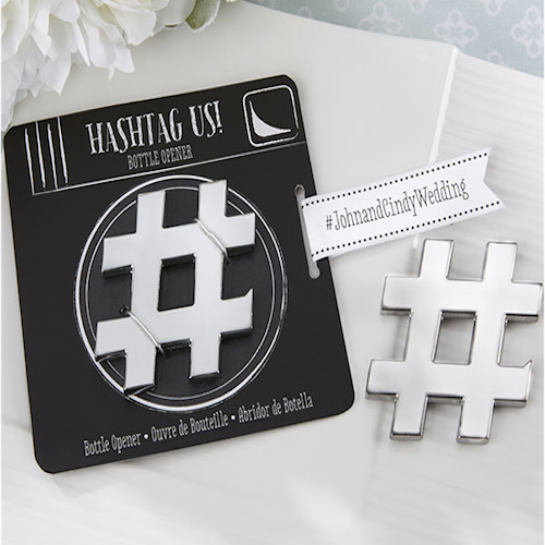 Hashtag Bottle Opener