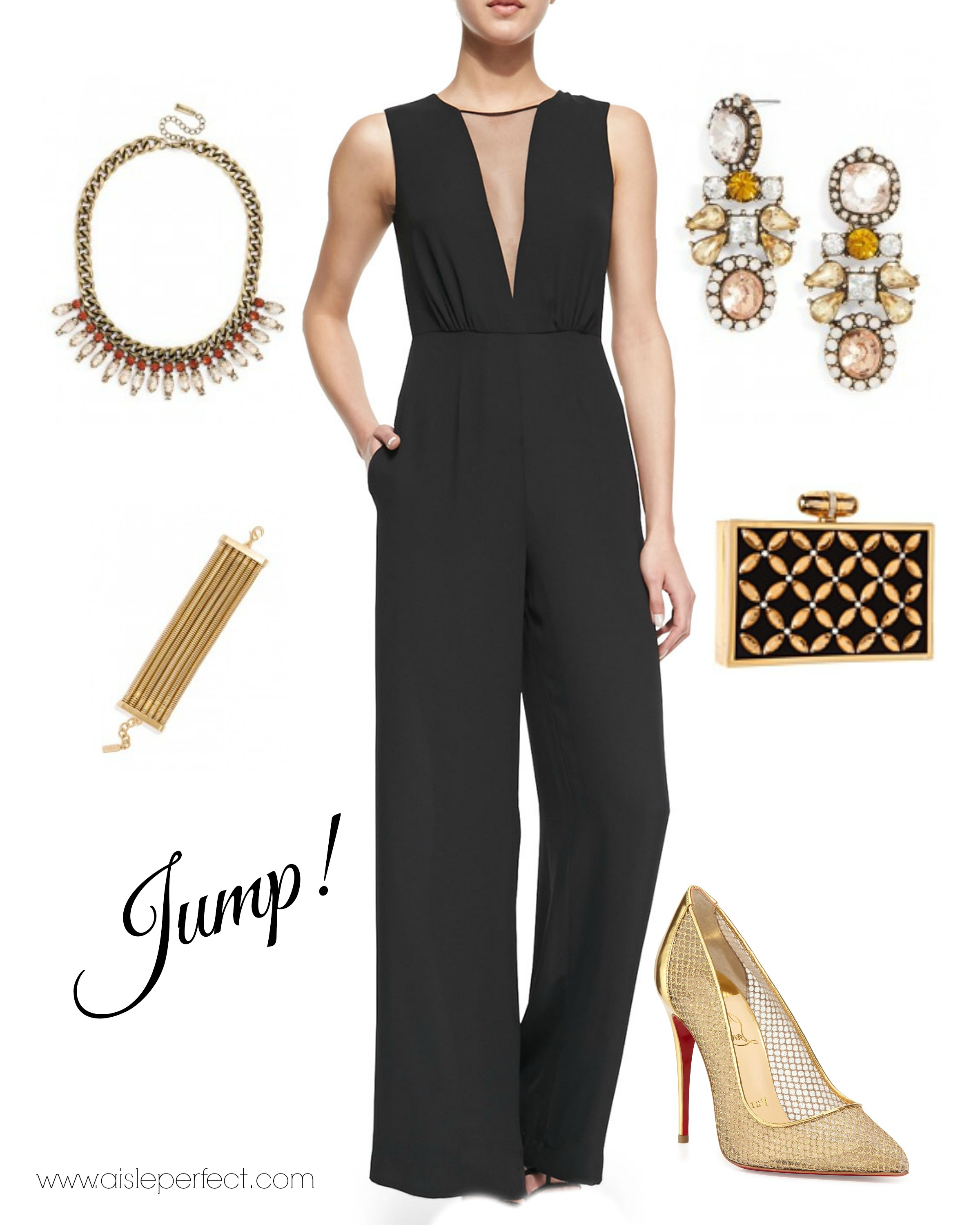 Jumpsuits To Wear To A Wedding: Jumpsuit Wedding Guest Outfit