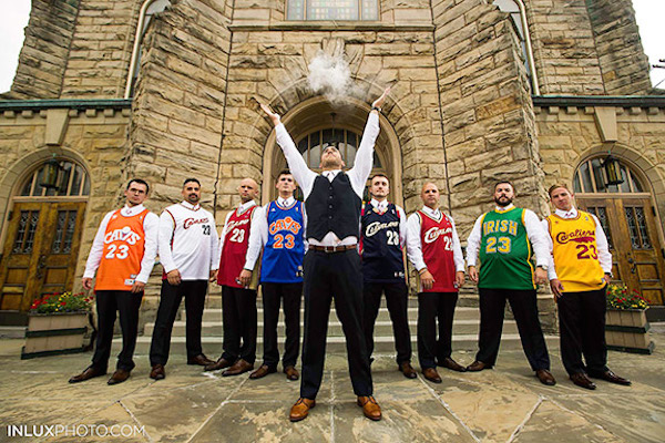 Lebron James Groomsmen | Image by Inlux Photo