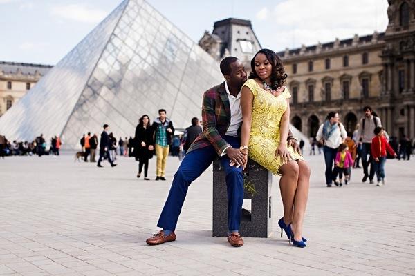 Parisian Engagement Shoot by Dotun Ayodeji 36