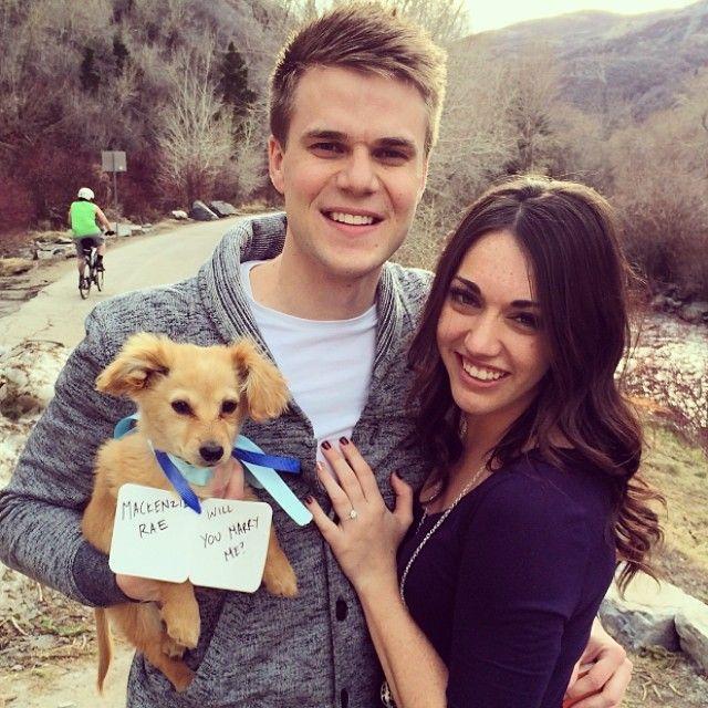 Puppy Proposal via @Puppiesforrent Instagram