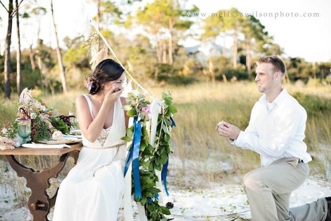 Read  Miranda and Zac's Proposal story here | Image by Melissa Wilson Photography