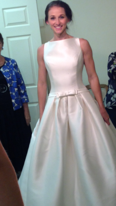 Wedding Dress Shopping | #APbride Audrey Checks in - Aisle Perfect