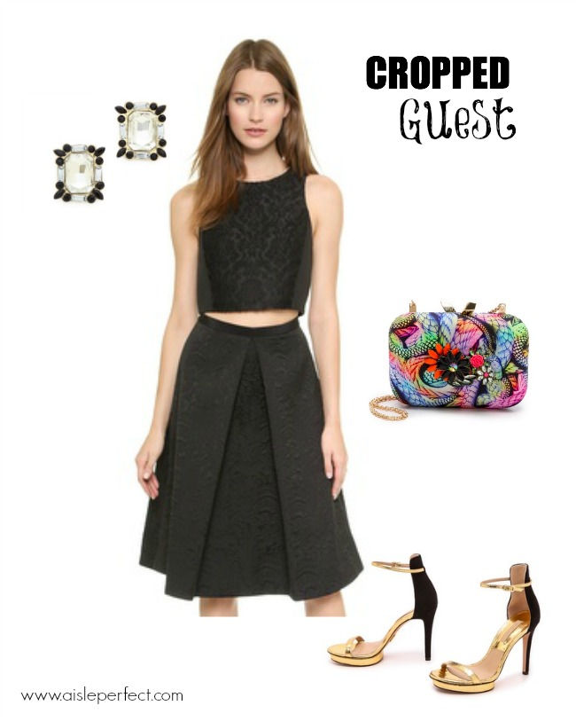 Crop Top Perfect Wedding Guest