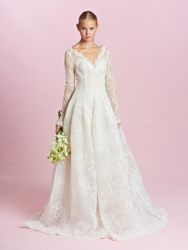 Oscar de la Renta Bridal Fall 2015 1
